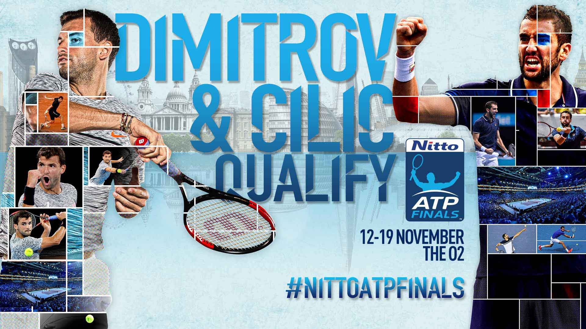 Atp Challenger Tour 2014 Dimitrov Cilic Qualify For Nitto