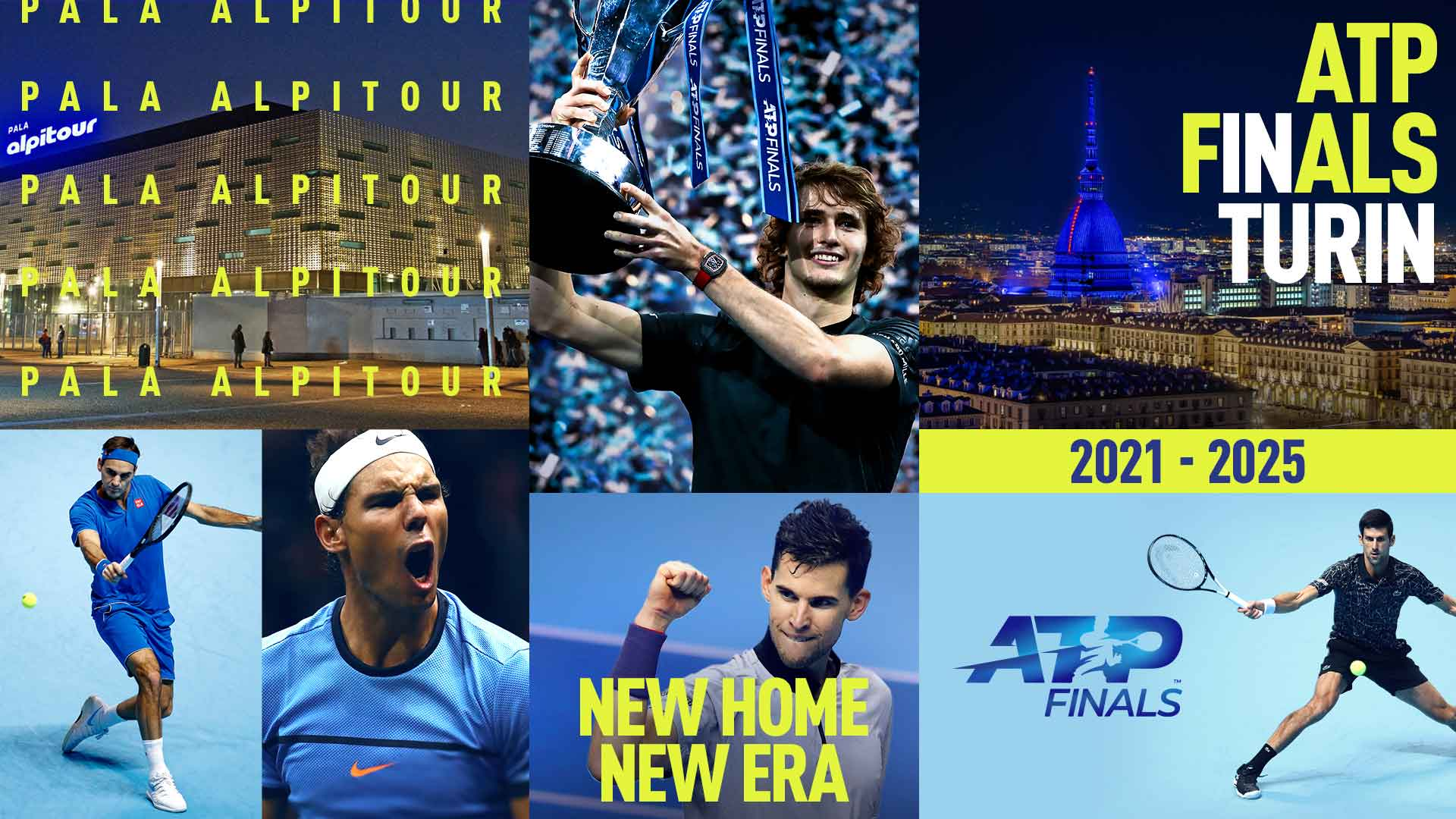 Turin to host ATP Finals from 2021 to 2025