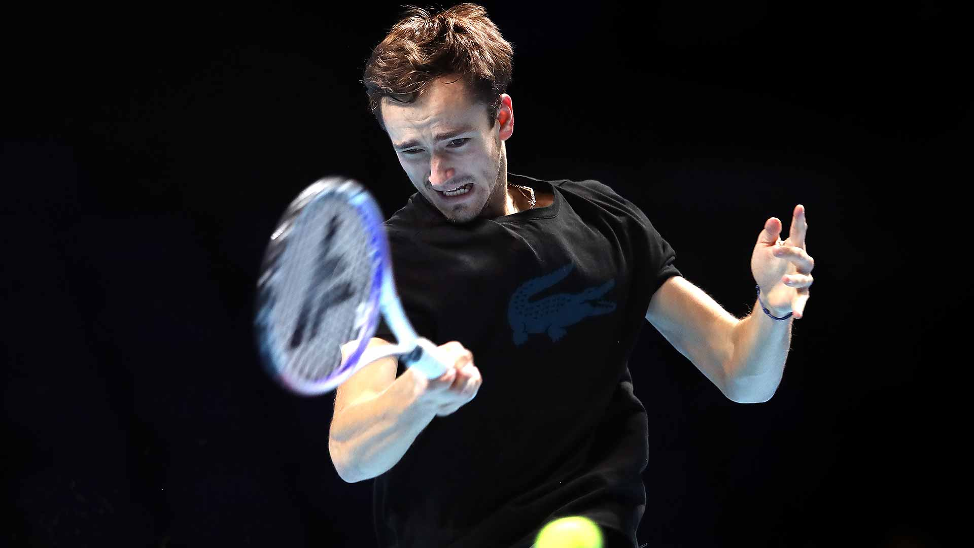 Daniil Medvedev is making his debut at the Nitto ATP Finals.