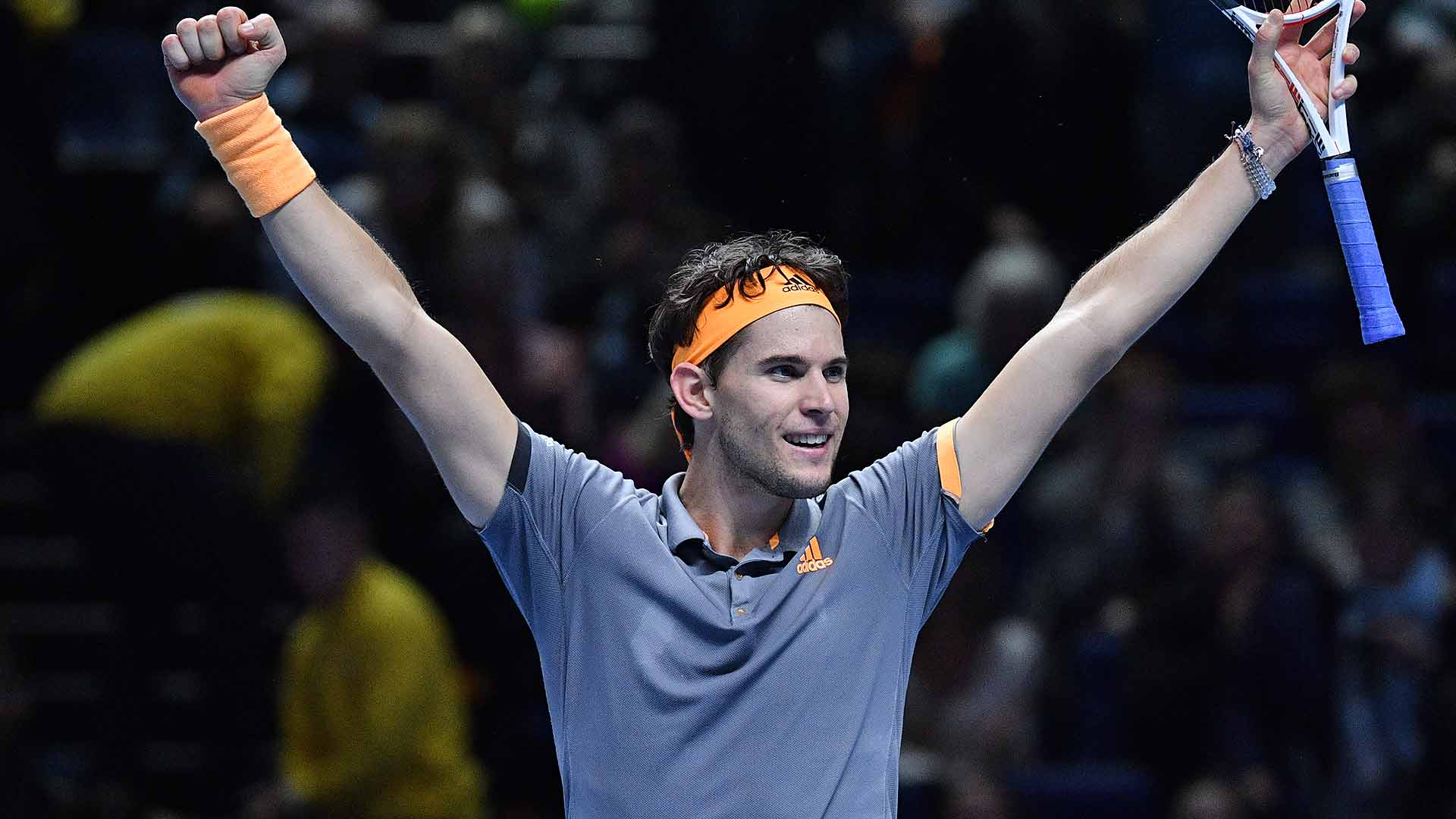 Dominic Thiem reaches his first Nitto ATP Finals title match on Saturday at The O2 in London.