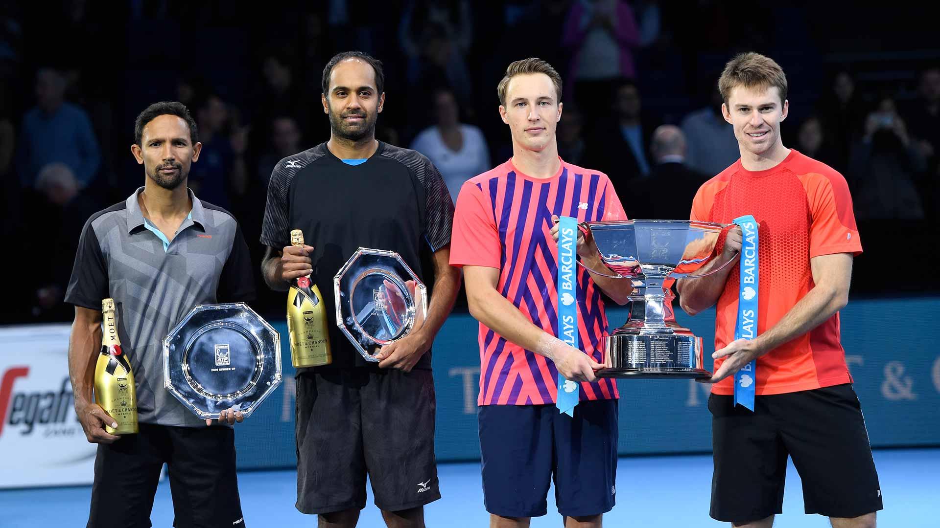 Kontinen/Peers Beat Klaasen/Ram, Deliver A Perfect 10 To End Season | Nitto ATP Finals