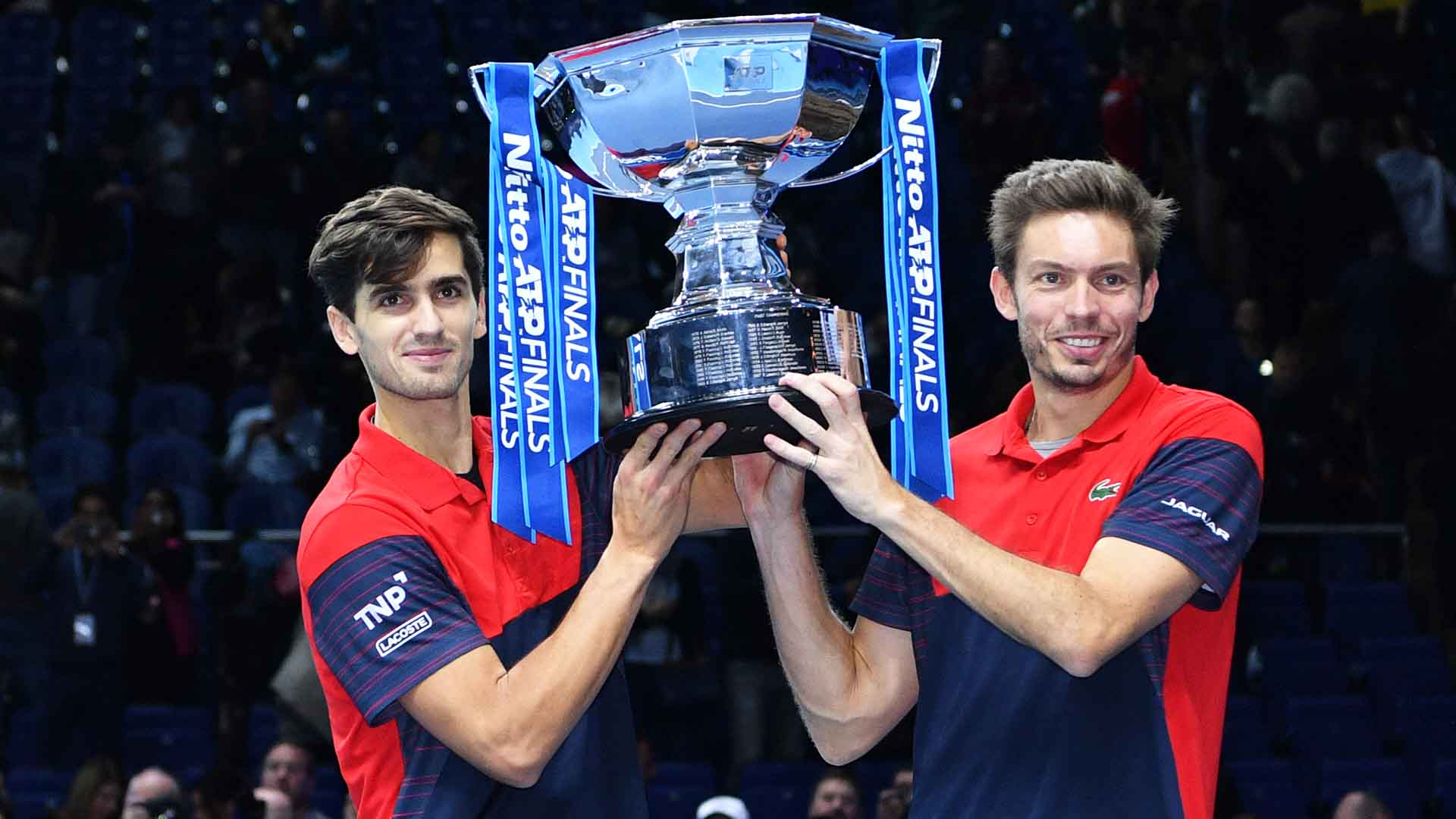 Pierre-Hugues Herbert and Nicolas Mahut claim their third team title of 2019.
