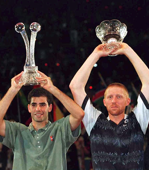 Sampras, Becker